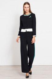 Modailgi Sandiago Ceket Siyah Yeşil