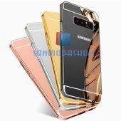Samsung Galaxy Note 8 Kılıf Metal Aynalı Kılıf