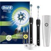 Oral B Pro 790 Şarj Edilebilir Diş Fırçası 2li Avantaj Paketi