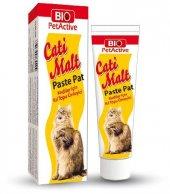 Bio Petactive Cati Malt Paste Pat Kedi Kıl Topu Önleyici 25 Ml