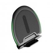 Baseus Foldable Stand Wireless Siyah Hızlı Şarj Cihazı