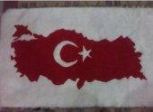 Türkiye Haritalı İşlemeli Duvar Panosu