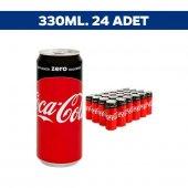 Coca Cola Kutu Zero 330 Ml X 24