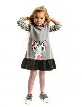 Denokids Lady Cat Kız Çocuk Elbise