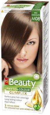 Beauty Doğal Bitkisel Saç Boyası M08 (Sütlü Kahve)