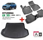 Hyundai İx 35 Havuzlu 3d Oto Paspas Ve Bagaj Havuz...