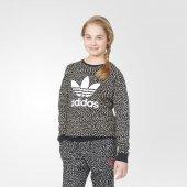 Adidas S96081 J Trefoıl Crew Çocuk Sweatshirts