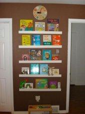 Five Mdf Montessori Kitaplık Raf