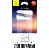 Samsung Galaxy A6 Plus 5d Full Kaplayan Zore Fiber Nano Kırılmaz Cam İdeal Telefon