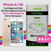 Iphone 6g 6s Plus Anti Shock Full Kaplama Cizilmez Ekran Koruyucu İdeal Telefon