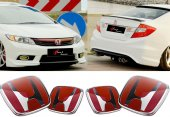 Honda Civic 2012.2016 Fb7 Panjur Bagaj Logo Set