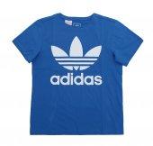 Adidas J Trf Tee Çocuk T Shirt Mavi