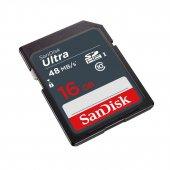Sandisk Ultra 16gb 48mb S Class 10 Uhs I Hafıza Ka...