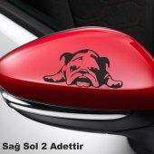 Ayna Köpek Oto Sticker 2 Adet