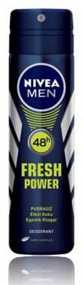 Nivea Deo Sprey Erkek Deodorant Fresh Power 150ml
