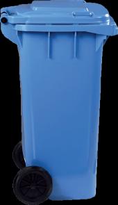 çöp Konteynır 120 Litre Mavi