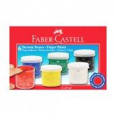 Faber Castell 6' Lı Parmak Boyası