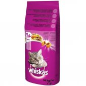 Whiskas Ton Balıklı Sebzeli Kuru Kedi Mama 14 Kg