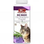 Pet Active Bio Magic Lavanta Ve Biberiye Özlü Kuru Kedi Şampuanı