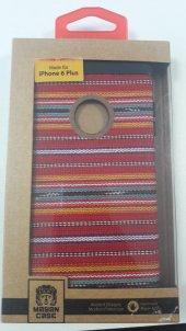 Mayan İphone 6 Plus Kırmızı Desenli Kılıf