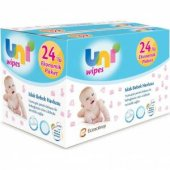 Uni Baby Wipes 24lü 1440 Yaprak Islak Havlu