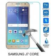 Samsung J7 Core Kırılmaz Temperli Cam Ekran Koruyucu