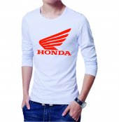 Honda Erkek Tişört Erkek Tshirt Uzun Kollu T Shirt