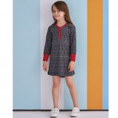 Rolypoly 1379 Kız Çocuk Pijama Antrasit 3 8 Yaş