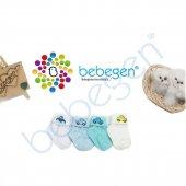 4lü Arabalı Kutulu Bebek Çorabı
