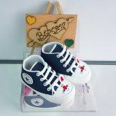 Laci Tavşanlı Converse Bebek Ayakkabısı