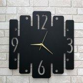 Dekoratif Ahşap Duvar Saati Clock Desing