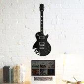 Dekoratif Ahşap Tablo Electro Guitar