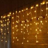 Dekoratif Sarkıt Saçak İp Perde Led Işık Aydınlatma 2x1 Metre