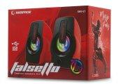 Rampage Rms G7 Falsetto 2.0 6 Watt 50hz 20khz Kırmızı Multimedia 5v Usb Speaker