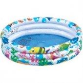 Altis Balık Desenli Şişme Çocuk Yüzme Havuzu Plastik Havuz