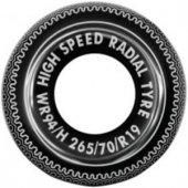 Altis A630 Tekerlek Desenli Deniz Havuz Can Simidi Radial Simit