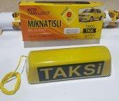 Taksi Levhası Sarı Mıknatıslı