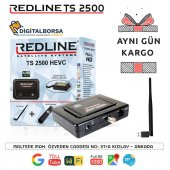 Redline Ts 2500 Hevc Hd + Wifi Anteni