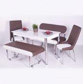 Izmo Bank Takımı Masa Sandalye Takımları Mutfak Masası Yemek Takı