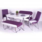 Bank Masa Sandalye Takımı Mutfak Masası Yemek