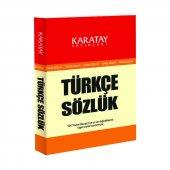 4e Karatay Türkçe Sözlük Karton Kapak 1.hamur