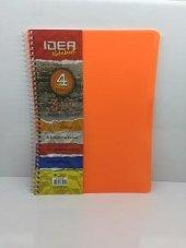 ıdea Notebook 4 Konulu 3+1 Kareli Ve Çizgili