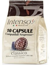 ıntenso Classico Nespresso Uyumlu Kapsül Kahve 10lu