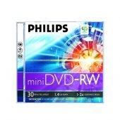 Phılıps 1.4 Gb 2 X Tekli Kutulu 30mın Mini Dvd Rw...