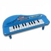 Oyuncak Piyano Pilli Ve Renkli Işık Efektli Melodili Müzik Aleti