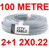 100 Metre 2+1 2x0.22 Cctv Kablo