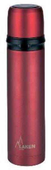 Laken İspanya Üretimi Çelik Termos 1l Kırmızı Lk180010r