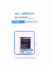 Acl Samsung S3350 S3353 S3850 Batarya
