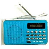 Everton Rt 590 Şarjlı Radyolu Usb Sd Kart Girişli Müzik Çalar