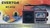 Everton Rt 41u Şarjlı 10 Band Dünya Radyosu, Usb S...